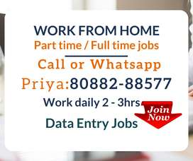 Are you looking for Weekly Payment  Data Entry job? Earn daily 1000