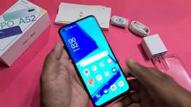 Oppo A52 with charger and box