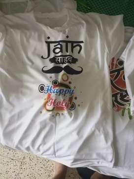 Holi t shirts