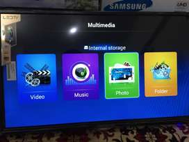 42 Smart Samsung Malaysian with woofer sound 1 year warranty led tv