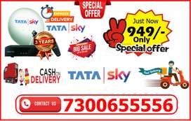 You Want New Connection So Buy Tatasky DTH:  New Connection & 1 Month