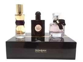 YSL parfum travel gift set 3in1 @15ml