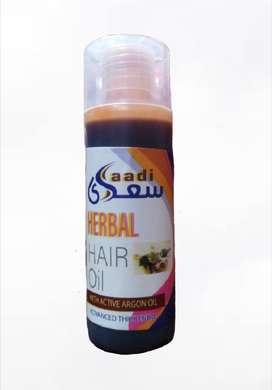 Saadi Herbal Hair Oil With Active Argon Oil