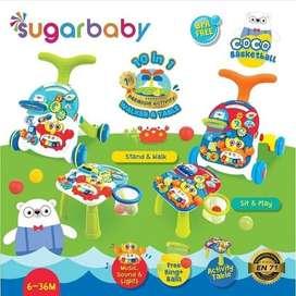 BABY WALKER + TABLE ALAT BANTU JALAN SUGAR BABY
