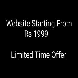 Freelance website (Rs 1999 to Rs 4999)