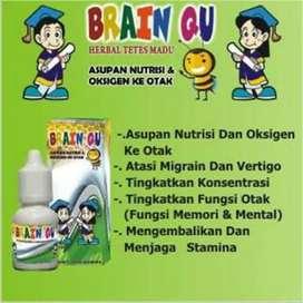 Brainqu Madu tetes nutrisi otak
