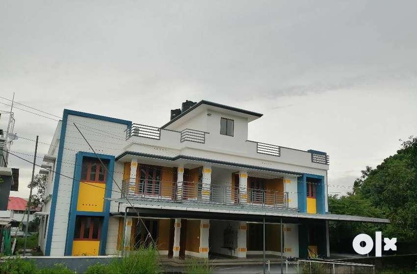 Three BHK S/F apartments 4 RENT, PUSHPANAGAR,Chunangamvely, Aluva. 0