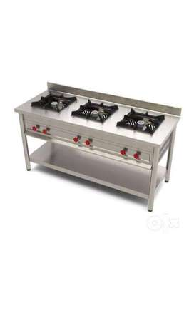 Gas stove for commercial