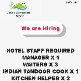 Manager for resort in igatpuri