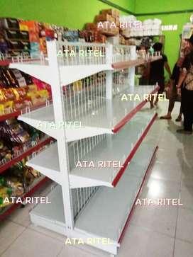 Rak toko minimarket ala indomaret alfamart supermarket jual gondola