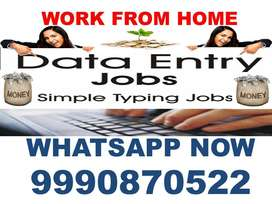 Part Time Home Based Data Entry Job 4000 to 8000 weekly earning Apply