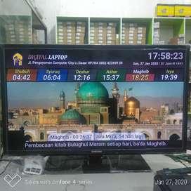 Jadwal Shalat TV Led