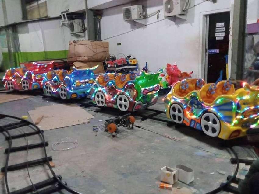 mini roller coaster kereta rel bawah lantai odong PROMO 500k lengkap 0