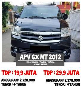 DP 13,9 juta Apv Arena Gx MT Th 2012
