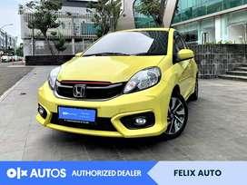 [OLXAutos] Honda Brio Satya 1.2 E Bensin A/T 2018 Kuning #FelixAuto