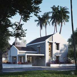 3Bhk Villa  for sale at Kulai with 5cents land