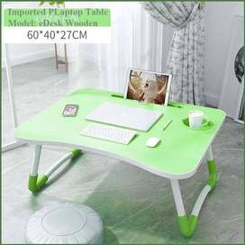 Laptop Table eDesk, Wooden, Table, Your work tool.