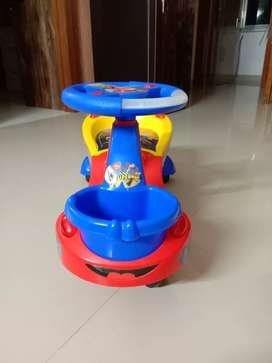 Toyzone Superman theme tri cycle with wheel for Children.