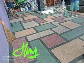 Batu alam koral lantai