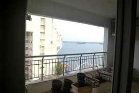 Partial view flat for sale @purva,Oceana