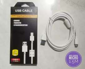 Kabel Charger micro 1.5M Fast Charging