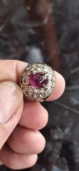 Natural Rubby Corundum