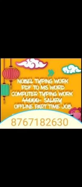 Offering home based job  Jobs » Online