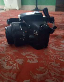 I am saling my canan modle  550D 50mm lence