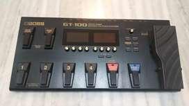 Guitar BOSS GT-100 Multi effects processor