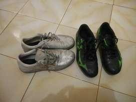 Jual sepatu futsal dan sepak bola specs dan mizuno ukuran 40