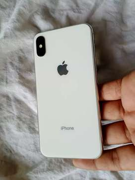 iPhone x 64 GB silver