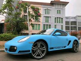 Cayman 2.9 PDK 2011 White Wrap Miami Blue On Red Km17rb Antik Full Opt