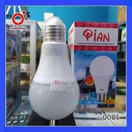 Pian Classic Lampu LED Bulb A 12 Watt Garansi 1 Tahun - 0005