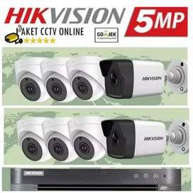 Paket Kamera CCtv Komplit harga murah free instalasi
