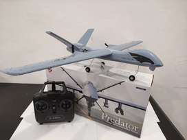 RC Remote Control Pesawat 2.4G Z51 Predator Cross Border