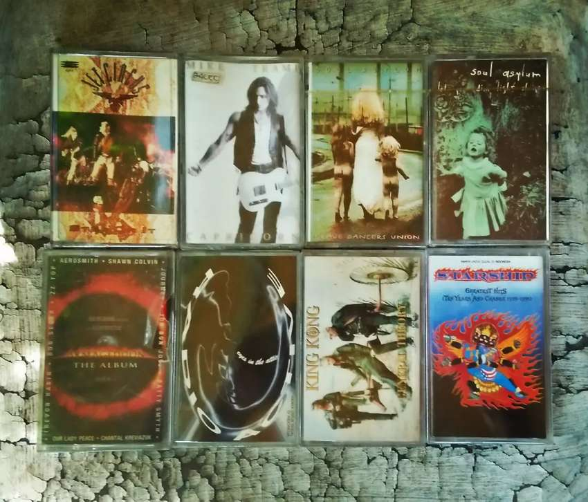 Kaset ROCK segel. Jet Circus, Mike Tramp, Soul Asylum