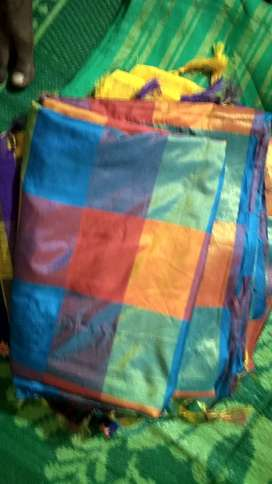Cotton saree for women almost new