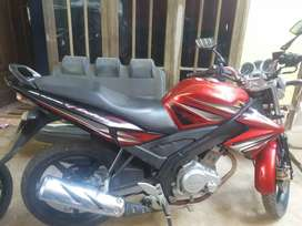 Motor Vixion Merah