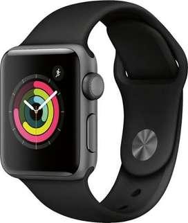 Apple Watch series 3 38mm 99% fullset Garansi ERAFONE