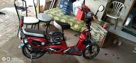 Jual sepeda listrik Vita.. kondisi masih seperti baru no minus..