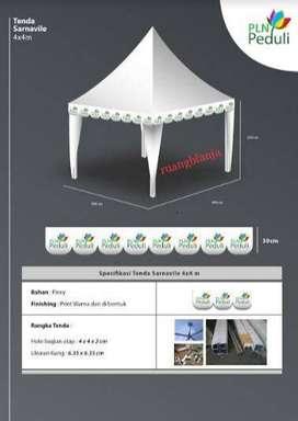 Tenda sarnavil / Tenda kerucut / Tenda event(promotion)