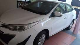 Single owner single hand use toyota Yaris AMT for sale