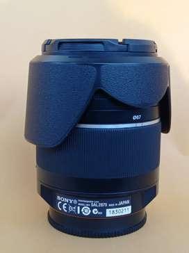 Lensa Sony A mount SAL 28-75mm f2.8