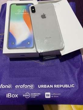 Jual iphone X acesoris lengkap