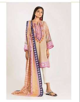 Khaadi 2 Pc Embroidered Cambric suit