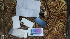 Mi note 8 4/64 fully new like condition
