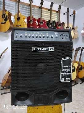 Ampli BASS LINE 6 LD175 (Speker 15 Inchi) Buat panggung & Studio