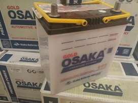 Aki mobil accu basah garansi 6 bulan osaka gold battery