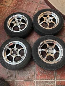 "14"" Alloy Rims / Wheels with Tyres"