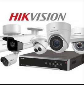 Hikvision Cctv with Installation